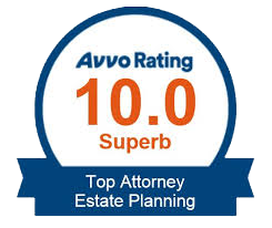Avvo Badge:  Top Estate Planning Attorney