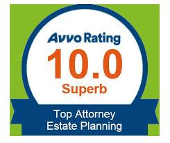 Avvo Badge:  Top Estate Planning Attorney